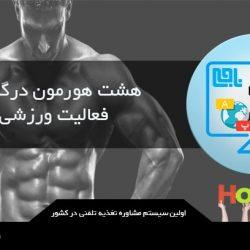 هشت هورمون درگیر در فعالیت ورزشی