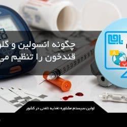 هورمون انسولین و گلوکاگون